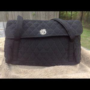 Vera Bradley black shoulder bag
